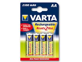 4 Pack Spektrum 2100 mAh NiMH AA Battery
