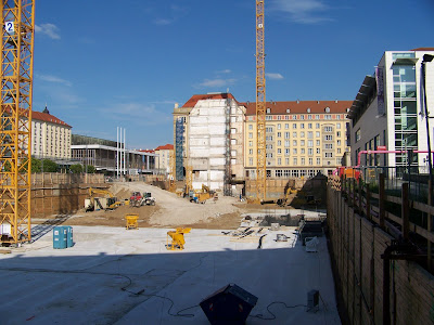 Baustelle Altmarkt Galerie Dresden