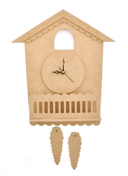 The enchanted gallery hello kitty cuckoo clock mdf kit by kaisercraft - Cuckoo clock plans ...