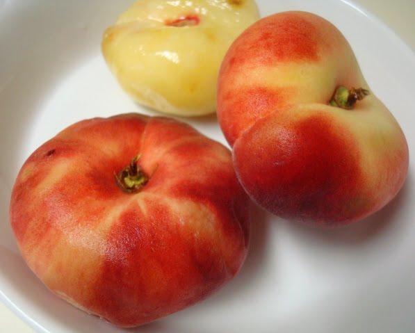 Corn, Peach, Tomato Over Grilled Polenta Recipes — Dishmaps