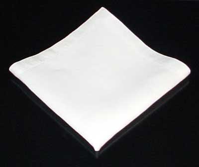 Декорация за маса - Сгъване на салфетка - тип пирамида