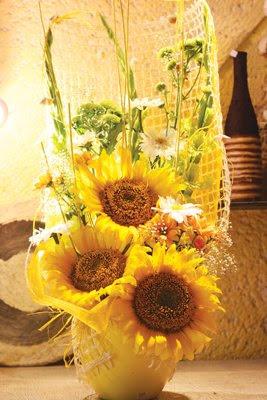 Декорация за дома - слънчоглед