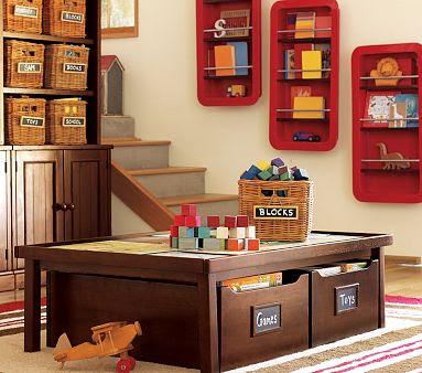Етажерки за детска стая
