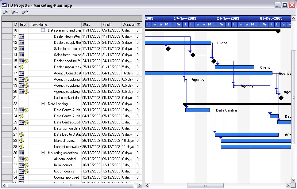 Moos project viewer for Microsoft viewer project 2010