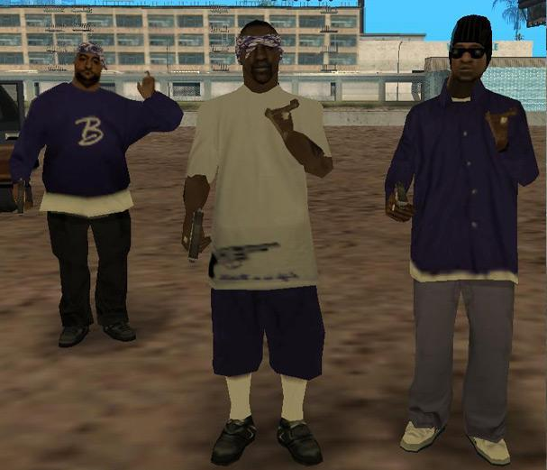 Skin's - Ballas • Smoke_OWNA • New-Ballas-Gang
