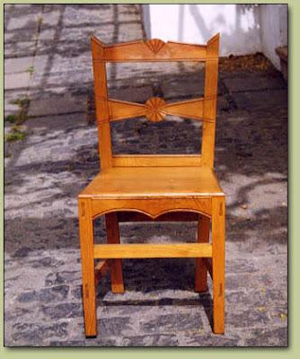 silla canaria o taburete