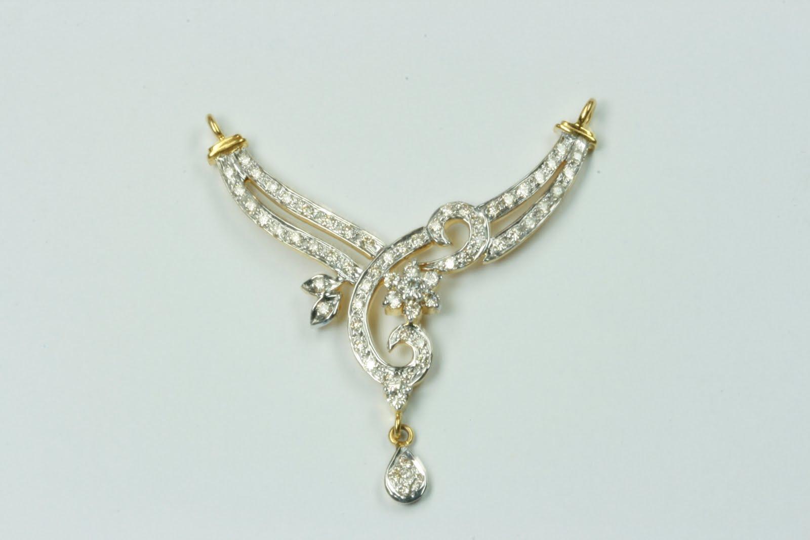 sone pe suhaga light weight mangalsutra pendants