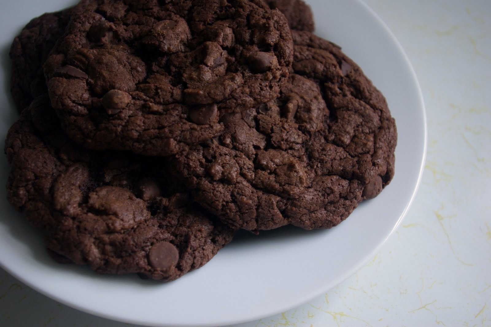 Double Chocolate Chunk Cookies - Sprinkles of Parsley