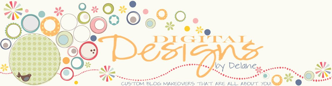 Digital Designs- Custom Blog Design, Blog Makeovers, Blog Designer