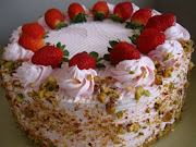 Nutty Strawberry Cakes