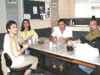 Profesores y socios de la APAPLE