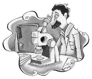 Extrutura do microscópio