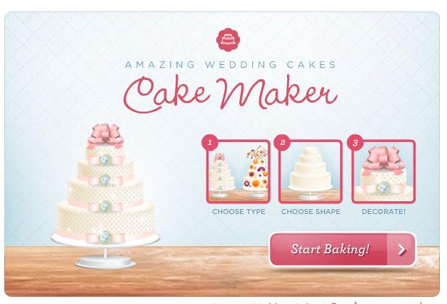 Design Your Own Virtual Wedding Cake Online Wedding cake unusual