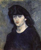 ピカソのシュザンヌ・ブロックの肖像