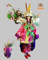 生け花売り(Vendedor de IKEBANA)