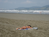 サントスのビーチ