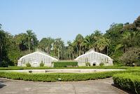 植物園の温室