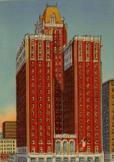 Lord Baltimore Hotel Room Service Menu