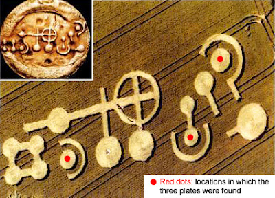 The Grasdorf Pictogram Plates Found Under Mysterious Crop Circle Grasdorf4