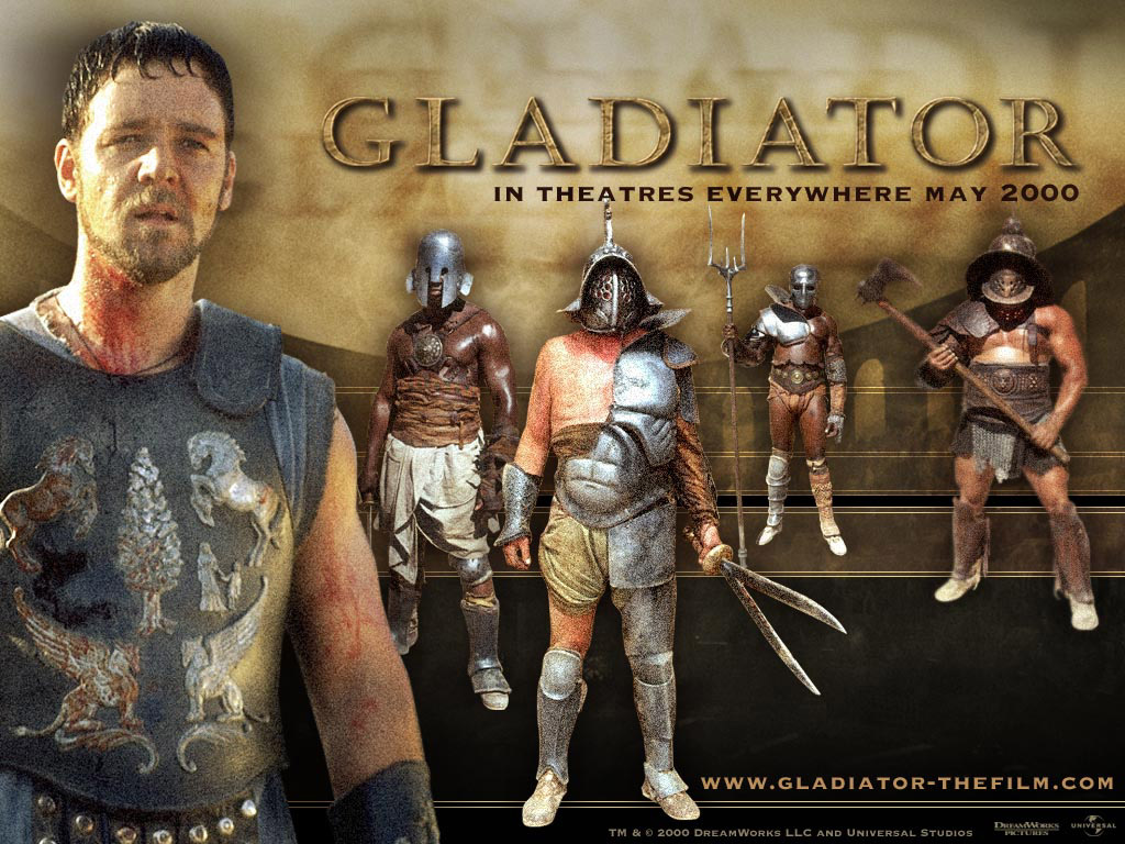 Gladiator hollywood movie 2000