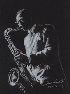 James moody, Jazz man, mine graphite