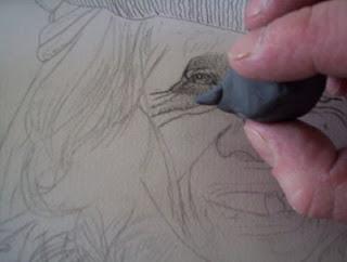 Thechnique du portrait, thechnique d'ombre 10