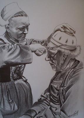 coupe au bol, vieux bretons