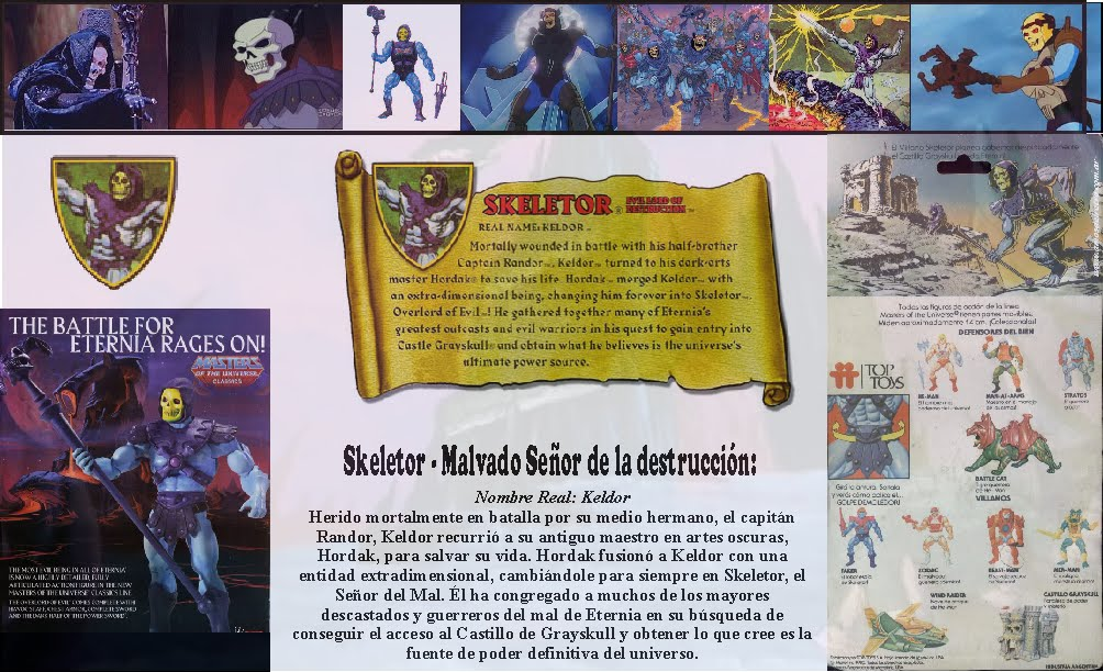 Skeletor Bio MOTUC