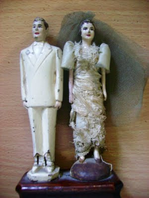 Wedding cake toppers are an American invention after all