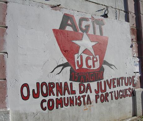 AGIT - O jornal da Juventude Comunista Portuguesa