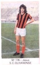 Jorge Jesus enquanto jogador do Olhanense - Época 1974/75