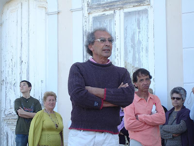 Jacinto Palma Dias dissecando a simbologia arquitectónica do chalé