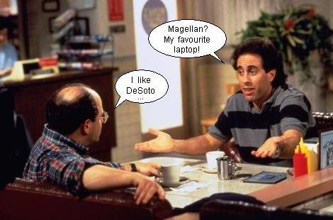 George Costanza e Jerry Seinfeld