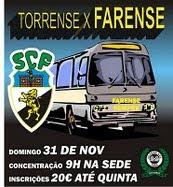 Torreense x Farense 31 de Nov