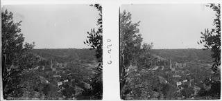 Vista de Tivenys des d'el camí de Cardó