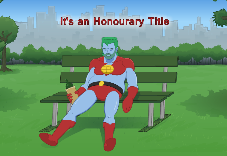 It's an Honourary Title