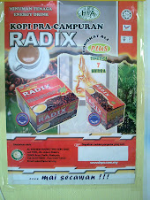 Kopi Pra-campuran Radix