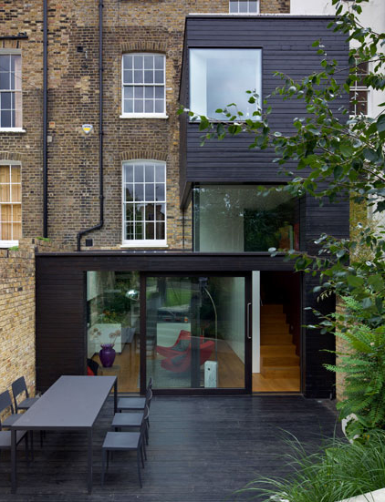 Style and design home extension the glass box for Home extension design welwyn garden city
