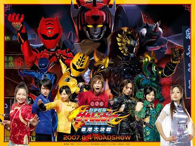 Hoạt Hình Tổng hợp các phim siêu nhân: Super Sentai - Kamen Rider - Poweranger