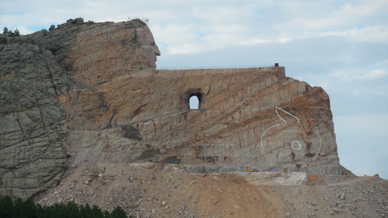 Displaying 17> Images For - Crazy Horse Memorial Completion Date...