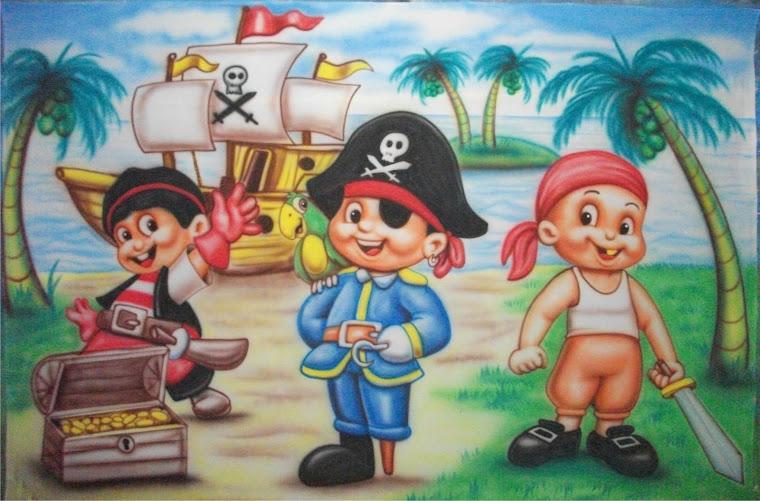 piratas infantis