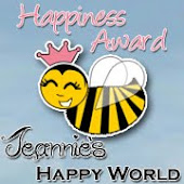 My award from Jeannie
