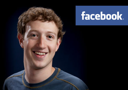 Facebook CEO Mark Zuckerberg, Justin Timberlake plays Sean Parker,