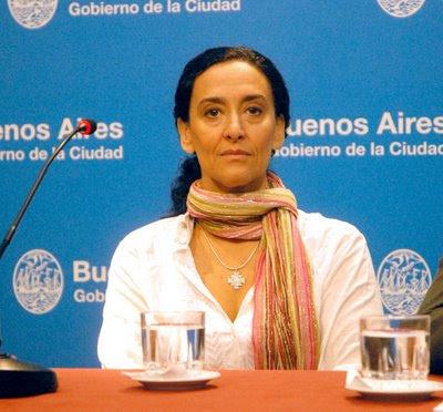 Gabriela Michetti en tête des sondages pour la ville de Buenos Aires