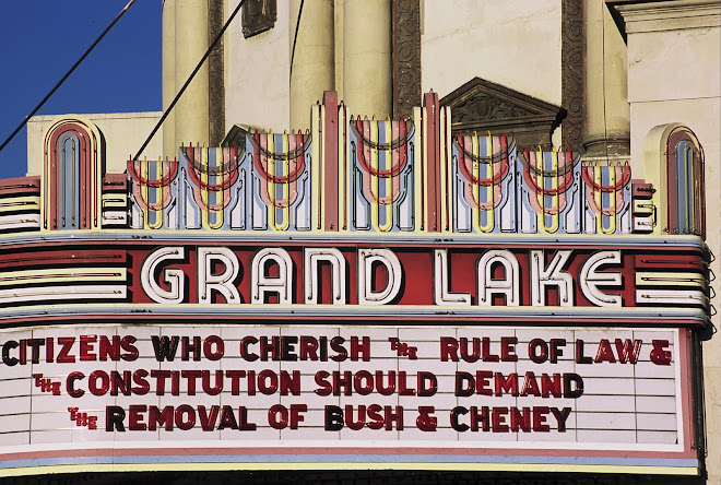 Showing a Political Statement: Oakland, California