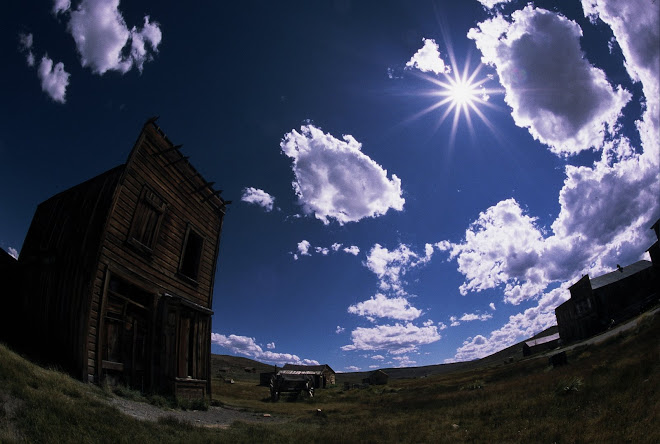 The Weatherbeaten Ghost Town of Bodie, California