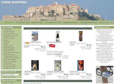 Corse shopping