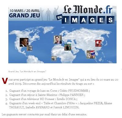 les gagnants du monde.fr