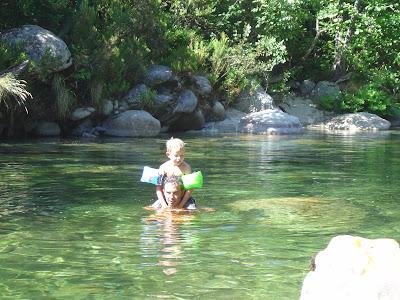 vacances en corse baignade à Noceta