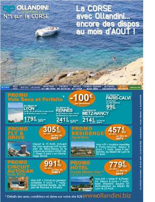 Ollandini Vacances en Corse